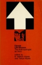 Claude Levi-Strauss: The Anthropologist as…