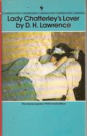 Lady Chatterley's Lover af D.H. Lawrence