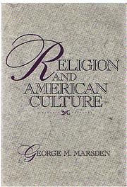 Religion and American Culture de George M.…