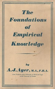 The Foundations of Empirical Knowledge av A.…