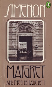 Maigret and the Enigmatic Lett por Georges…