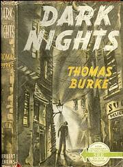 Dark Nights – tekijä: Thomas Burke