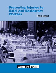 Preventing injuries to hotel and restaurant…