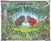 Town Mouse / Country Mouse af Jan Brett
