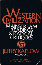 Western civilization; mainstream readings &…