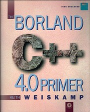 The Borland C 4.0 Primer/Book and Disk –…