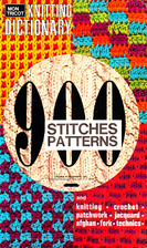 Mon Tricot Knitting Dictionary; 900 Stitches…