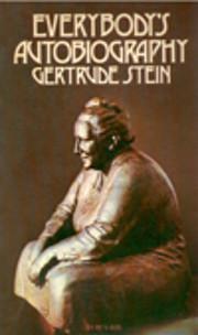 Everybody's autobiography de Gertrude…