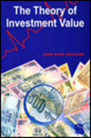 The Theory of Investment Value (Fraser…