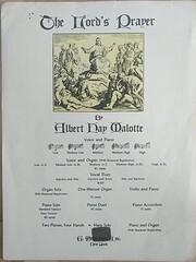 The Lord's Prayer – tekijä: Albert Hay…