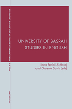University of Basrah Studies in English…