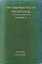 The art and practice of printing Vol. V by…