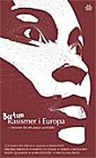 Bortom racismer i Europa : visioner för ett…