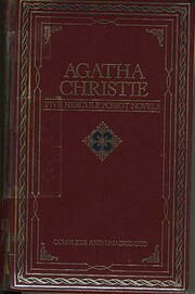 Agatha Christie: 5 (five ) Hercule Poirot…
