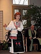 Vasilisa the Wise, a Russian folktale