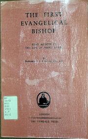 The First Evangelical Bishop af G C B Davies