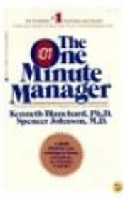 The One Minute Manager por Kenneth Blanchard