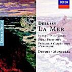 Claude Debussy ~ La Mer ~ CD
