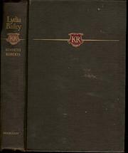 Lydia Bailey 1ST Edition de Kenneth Roberts