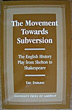 The Movement Towards Subversion by Eric…
