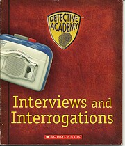 Detective Academy: Interviews and…