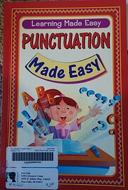 Punctuation Made Easy (Learning Made Easy)…