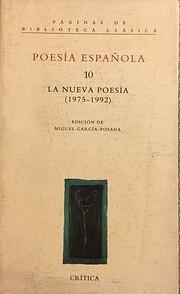 Poesía Española 10: La Nueva Poesía…