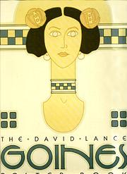 The David Lance Goines poster book af David…