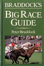 Big Race Guide by Peter Braddock