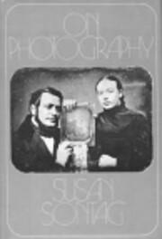On Photography – tekijä: Susan Sontag