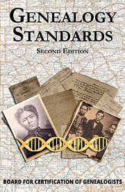 Genealogy Standards Second Edition by Board…