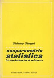 Nonparametric Statistics for the Behavioral…