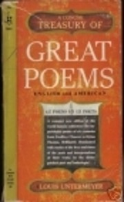 A Concise Treasury of GREAT POEMS –…