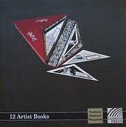 12 Artist Books de Thomas Parker Williams