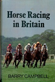 Horse racing in Britain by Barry Campbell
