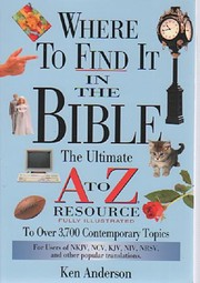 Where to Find It in the Bible: The Ultimate…