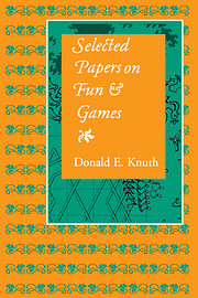 Selected Papers on Fun and Games (Lecture…