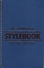 The Associated Press Stylebook and Libel…