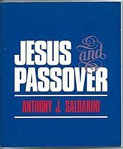Jesus and Passover av Anthony J. Saldarini