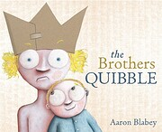 The brothers quibble de Aaron Blabey