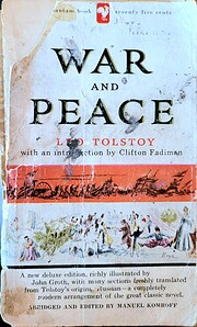 War and peace por Leo Tolstoy