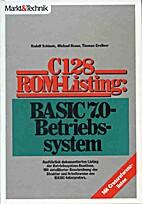 C 128 - ROM - Listing: BASIC-7.0 -…