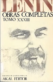 Obras completas XXXIII par Lenin