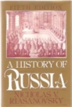 A History of Russia by Nicholas V.…