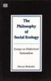 PHILOSOPHY OF SOCIAL ECOLOGY – tekijä:…