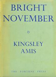 Bright November: poems de Kingsley Amis
