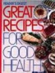 Reader's Digest Great Recipes for Good…