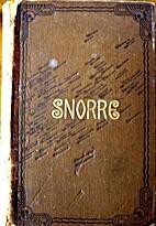 Snorre Sturlarsons Kongesagaer