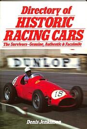 Directory of historic racing cars af Denis…