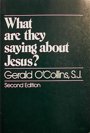 What are they saying about Jesus? de Gerald…
